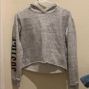 Justice SIZE 12/14 Sweatshirt with Hood